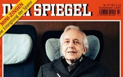 Der Spiegel's cover story on Cornelius Gurlitt, November 2013