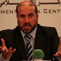 PA Minister of Religious Affairs Mahmoud al-Habash (photo credit: Issam Rimawi/Flash90)