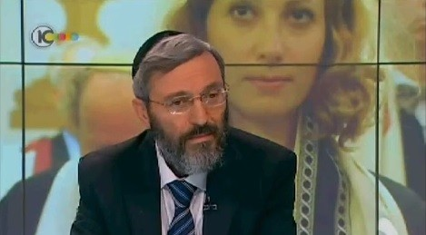 Rabbi Dov Halbertal (photo credit: Youtube screenshot)