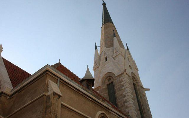Immanuel church (photo credit: Shmuel Bar-Am)