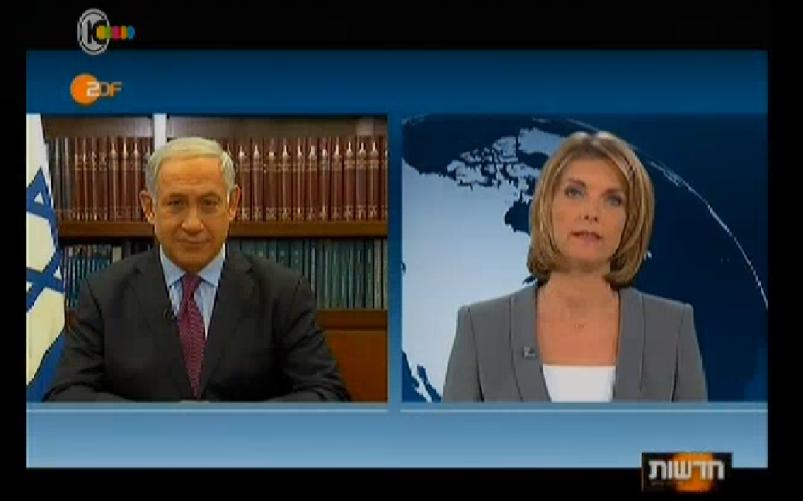 Ahead of Merkel visit, PM talks peace on German TV | The Times of Israel