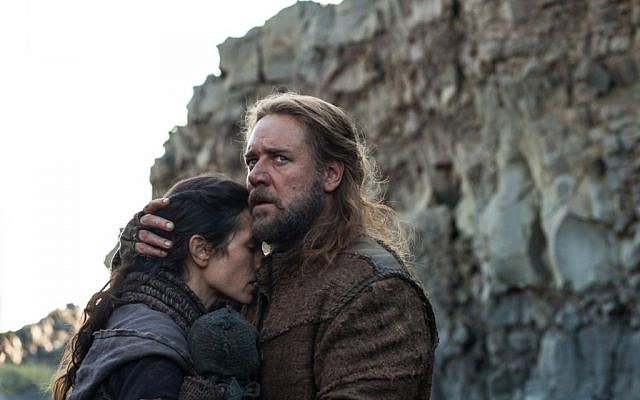 Russell Crowe and Jennifer Connelly in 'Noah' (Paramount Pictures)