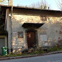 The home of Cornelius Gurlitt in Salzburg, Austria, November 18, 2013 (photo credit: AFP Wildbild)