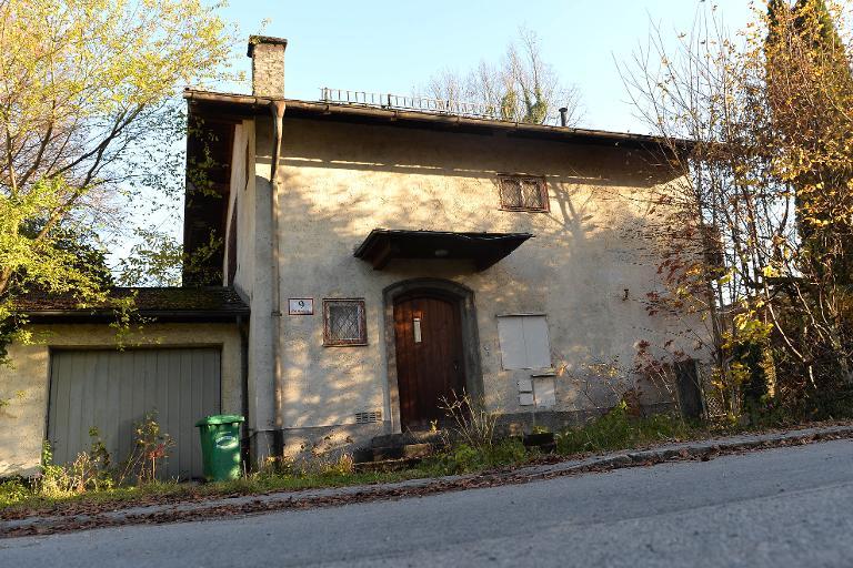 The house of Cornelius Gurlitt pictured seen in Salzburg, Austria on November 18, 2013 (photo credit: AFP Wildbild)