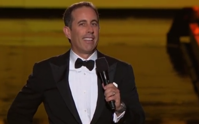 Jerry Seinfeld (photo credit: YouTube screen grab)