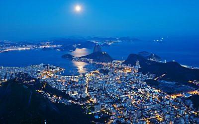 Rio de Janeiro at night (Rio de Janeiro at night image via Shutterstock)