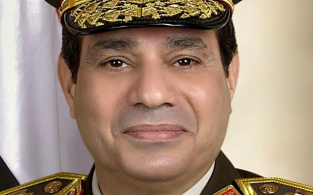 Egyptian army chief Field Marshal Abdel-Fattah el-Sissi poses for a portrait in Cairo, Egypt. (photo credit: AP/The Official Facebook Page of the Egyptian Military Spokesman of the Armed Forces)