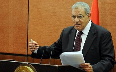 Egyptian Prime Minister Ibrahim Mahlab, file photo (AFP/STR)