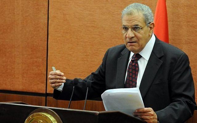 Egyptian Prime Minister Ibrahim Mahlab, file photo (AFP/STR)