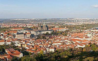 Panoramic view of Prague (David Iliff/CC BY-SA 3.0)