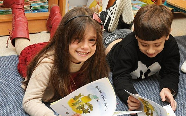 The Lantern library initiative provides books about universal values -- respect for parents, the other. (Akmal Nagnagy)