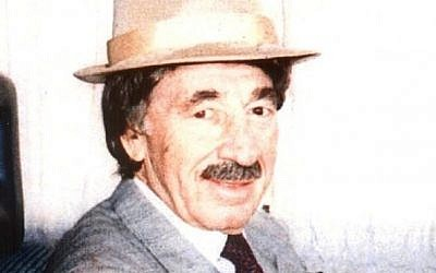 Shimon Peres, in disguise during the 1970s (photo credit: Facebook)