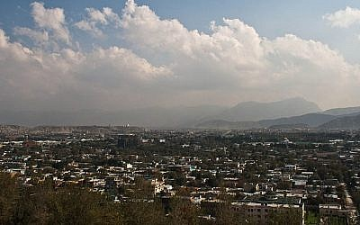 View of Kabul, Afghanistan (photo credit: James Solly/Wikimedia Commons/File)