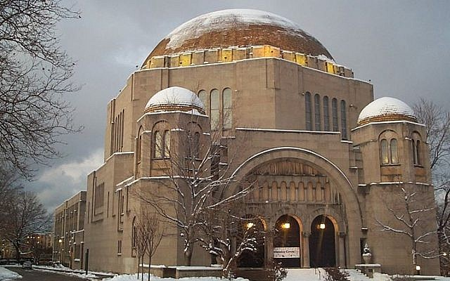 Temple Tifereth Israel, Cleveland, Ohio (photo credit: Wikimedia Commons/Stu_Spivack)