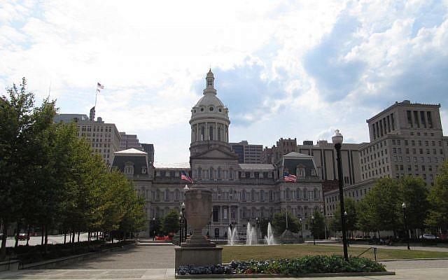 Baltimore. (photo credit: CC BY-SA Doug Kerr, Flickr)