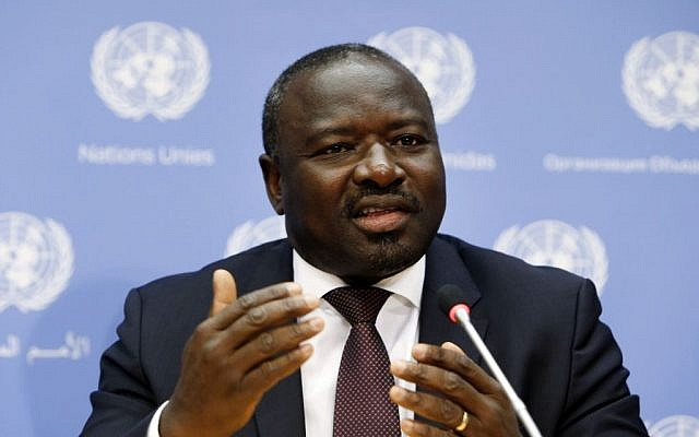 CTBTO Executive Secretary Lassina Zerbo (photo credit: AP Photo/Jason DeCrow)