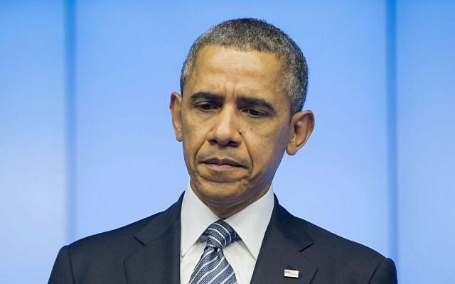 US President Barack Obama (photo credit: AP/Pablo Martinez Monsivais)