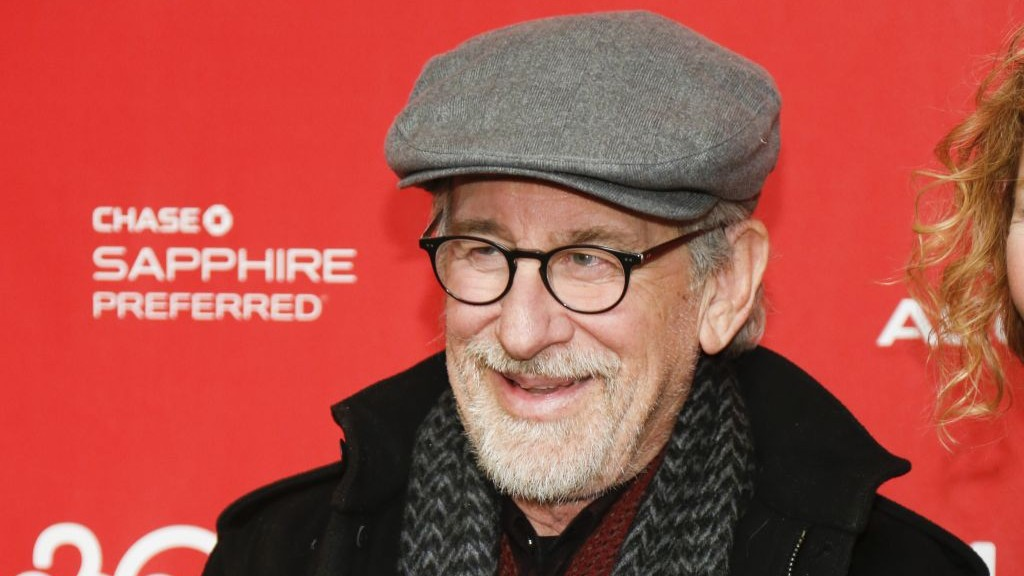 Steven Spielberg is photographed at the 2014 Sundance Film Festival, on Jan. 18, 2014 in Park City, Utah (photo credit: AP/Danny Moloshok/Invision)
