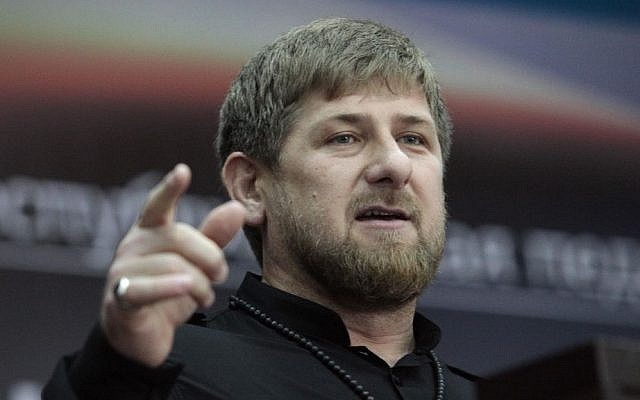Chechen leader Ramzan Kadyrov (photo credit: AP/Mousa Sadulayev/File)
