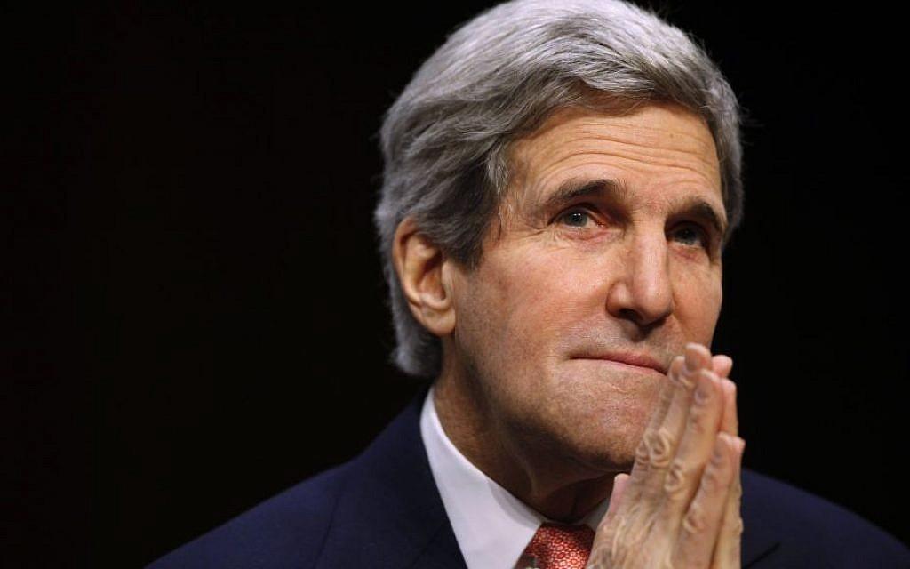 US Secretary of State John Kerry (photo credit: AP/Charles Dharapak/File)