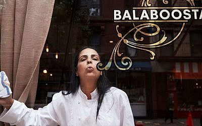 The 'balaboosta' of New York eatery Balaboosta, Chef Einat Admony. (photo credit: Courtesy Einat Admony)