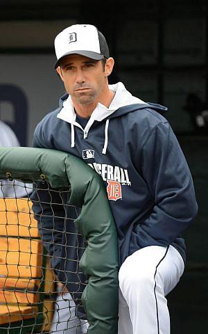 Brad Ausmus, manager of the Detroit Tigers (Detroit Tigers/JTA)