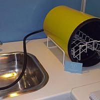 Mini-dishwasher from Denmark (Photo credit: Courtesy)