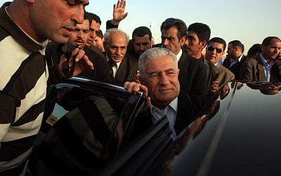 Fatah leader Abbas Zaki, April 1, 2010 (photo credit: Issam Rimawi/Flash90)
