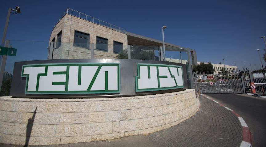 Teva Pharmaceutical tanks in Tel Aviv after third quarter earnings