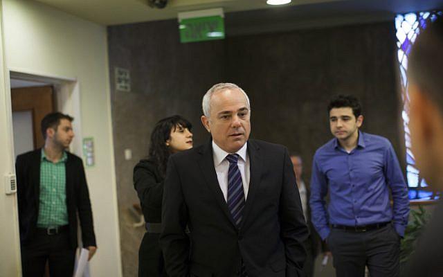Strategic Affairs Minister Yuval Steinitz on February 2, 2014. (photo credit: Yonatan Sindel/Flash90)