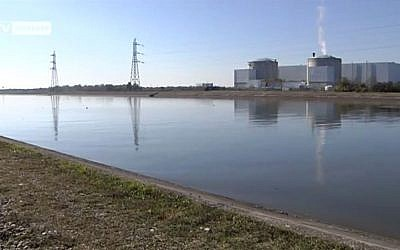 Fessenheim nuclear power plant, France. (screen capture: Youtube/FessenheimStop)