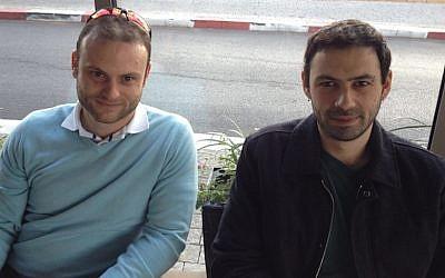 Michael Dubinksy (L.) and Michael Brezniuk of Semperis (Photo credit: Courtesy))
