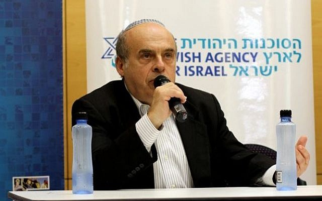 Natan Sharansky speaking in Sydney on Thursday (photo credit: Zionist Federation of Australia)