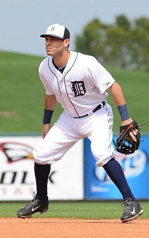 Ian Kinsler of the Detroit Tigers (Detroit Tigers/JTA)