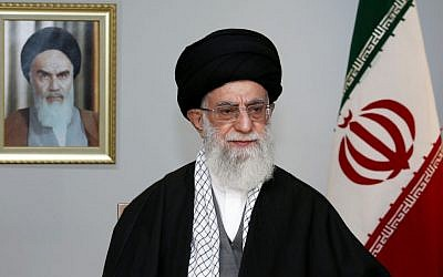 Iranian Supreme Leader Ayatollah Ali Khamenei Thursday, March 20, 2014,  (photo credit: AP/Office of the Supreme Leader)