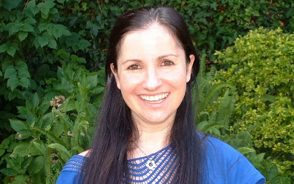 South African scientist Dr. Daniella Mark helps kids with HIV get treatment. (Moira Schneider/Times of Israel)