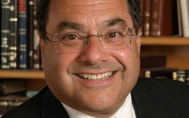 Efrat Rabbi Shlomo Riskin (courtesy office of Rabbi Riskin)