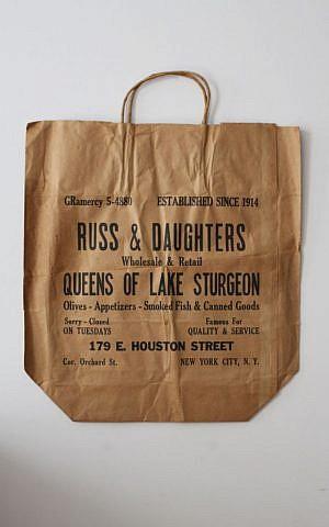 Russ & Daughters original bag