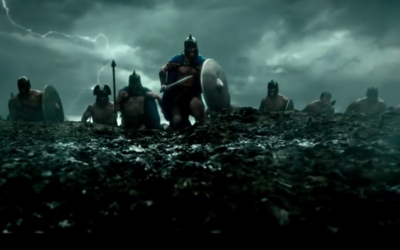 "A still from ""300: Rise of an Empire"" (screen capture: YouTube/official trailer)"
