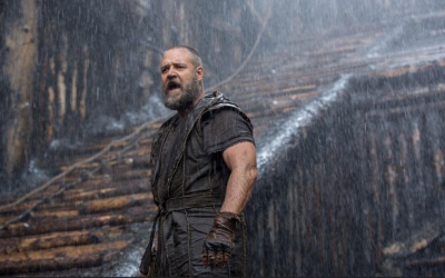 Our critic and Rabbi Shmuley Boteach determine if Russell Crowe is a wash-out (courtesy: Paramount Pictures)