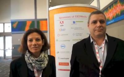 Amalia Bryl (L), Head of the MindCET Accelerator Program and Avi Warshavsky (R), CEO of MindCet Ed-Tech Innovation Center (Youtube screenshot)