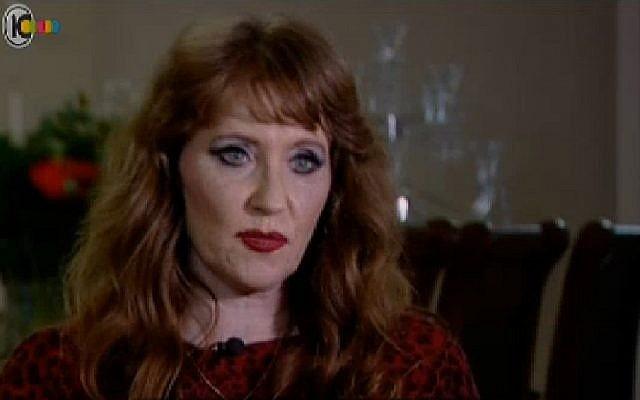 Anne Pollard (screen capture: Channel 10)