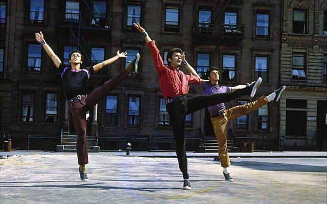"Production still from 'West Side Story""'(courtesy: United Artists.)"