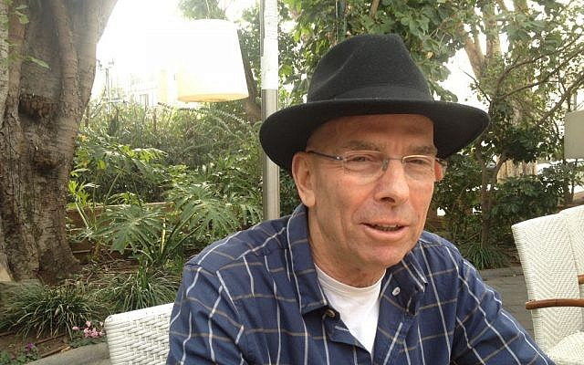 Yiftach Reicher-Atir, the former head of special operation's in the army's intelligence directorate, is thoroughly enjoying his literary retirement (photo credit: Mitch Ginsburg/ Times of Israel)