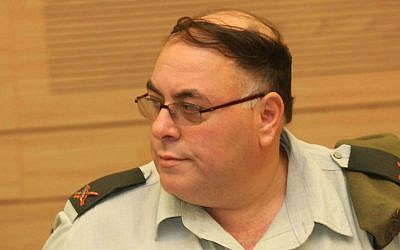 Former IDF Spokesperson Brigadier General Avi Benayahu, Nov 10 2009 (photo credit: Yossi Zamir/Flash 90)