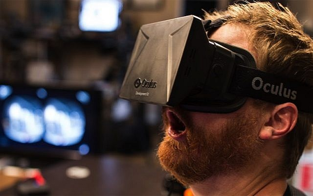An Occulus Rift headset (Photo credit: Courtesy)