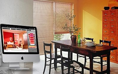 A Tambour computer program is used to match colors for walls (Photo credit: Courtesy)