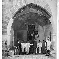 Ribat al-Mansuri, known during the late Ottoman Period as The Blood Prison (photo credit: The American Colony, public domain via Library of Congress)
