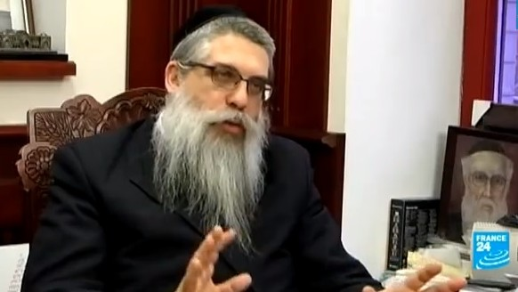 Rabbi Jacob Dov Bleich (Photo credit: Youtube screen capture)