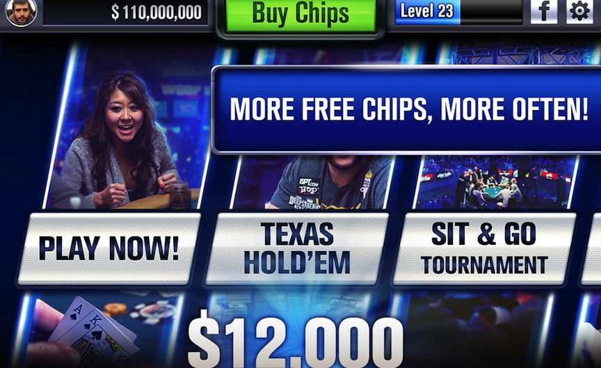 World Series of Poker screenshot (Photo credit: Courtesy)